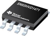 SN65HVD1471 具有 16kV IEC61000-4-2 接触放电 ESD 保护的 3.3V 电源全双工 RS-485
