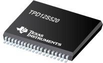TPD12S520 HDMI 接收器端口保护和接口设备