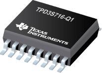 TPD3S716-Q1 可提供可调电流限制和电池短路保护的汽车类 USB 2.0 接口保护器件