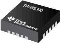 TPD8S300 USB Type-C™ 端口保护器:VBUS 短路过压和 IEC ESD 保护