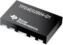TPD4E02B04-Q1 适用于 USB Type-C 和 HDMI 2.0 的 4 通道 ESD 保护二极管
