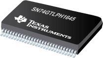 SN74GTLPH1645 16 位 LVTTL 到 GTLP 可调节边沿速率总线收发器