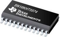 SN10KHT5574 具有 D 類邊沿觸發器和三態輸出的八路 ECL 至 TTL 轉換器