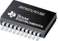 SN74GTLP21395 具有独立 LVTTL 端口、Fdbk 路径和可选择极性的双路 1 位 LVTTL/GTLP 可调节边沿速率总线 Xcvrs