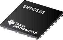 SN65DSI83 MIPI® DSI 桥至 FLATLINK™ LVDS 单通道 DSI 至单链路 LVDS 桥