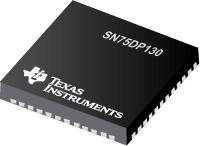 SN75DP130 支持 RBR、HBR 和 HBR2 (5.4Gbps) 的显示端口转接驱动器
