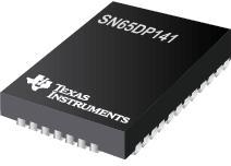 SN65DP141 支持 RBR、HBR、HBR2 和 HBR3 (12Gbps) 的 DisplayPort 线性转接驱动器