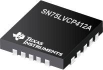 SN75LVCP412A 双通道 SATA 3Gbps 转接驱动器