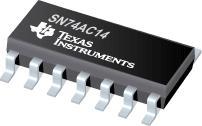 SN74AC14 六路施密特触发反向器