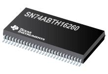 SN74ABTH16260 具有三態輸出的 12 位至 24 位多路復用 D 類鎖存器