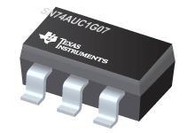 SN74AUC1G07 具有漏極開路輸出的單路緩...