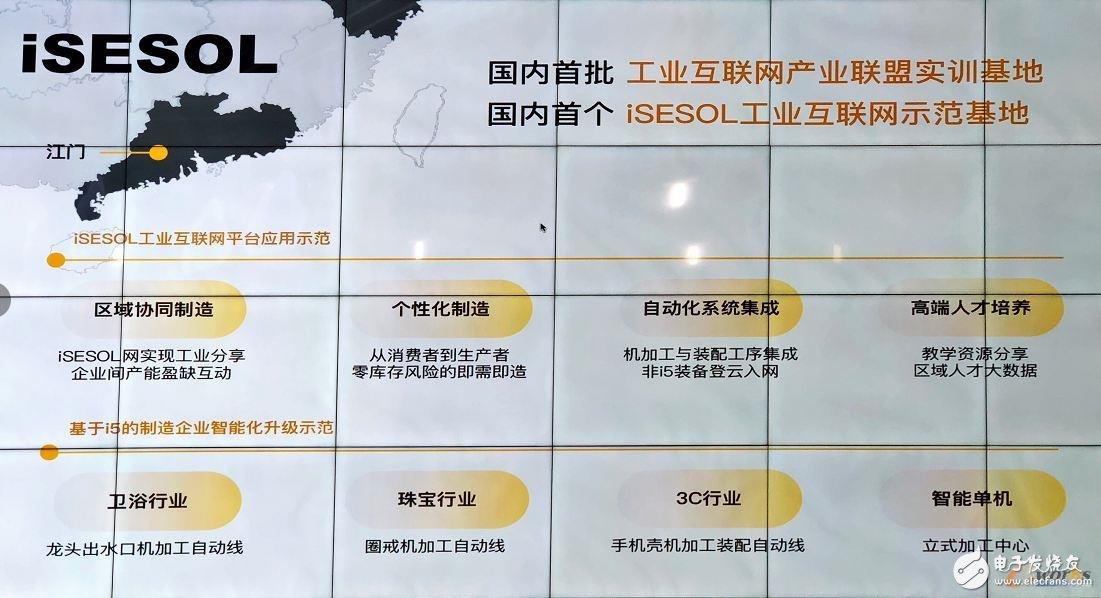智能云科iSESOL工业互联网平台为何选择落户江门?