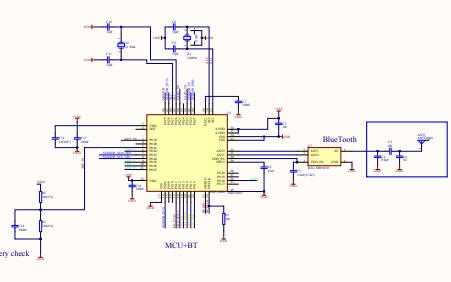 SCH PCB手环原理图免费下载