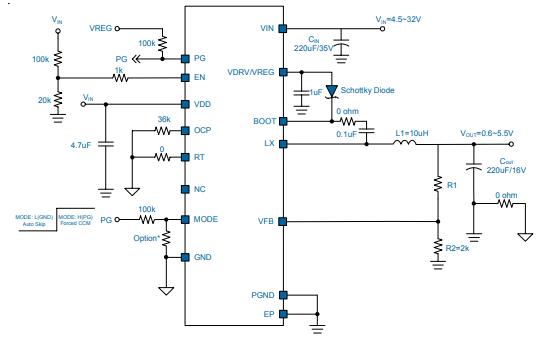 GW2007单一同步降压转换器的详细英文数据手册免费下载