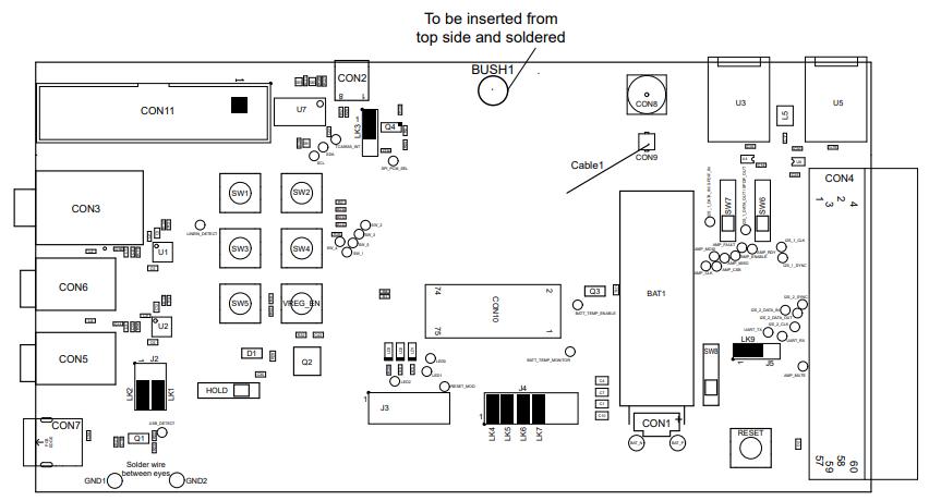 带有ACTX开发板的QCCF5立体声耳机原理图的免费下载