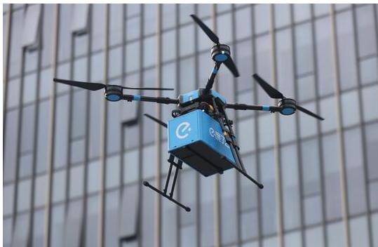 中国开通第一批无人机即时配送航线:送餐无人机正式...