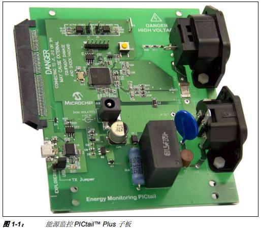 能源监控PICtail Plus子板开发工具的详细中文资料概述