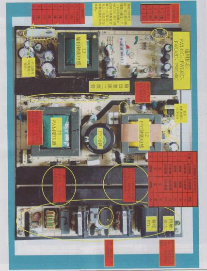 TCL,和康佳液晶彩电元件识别图的详细中文资料免费下载
