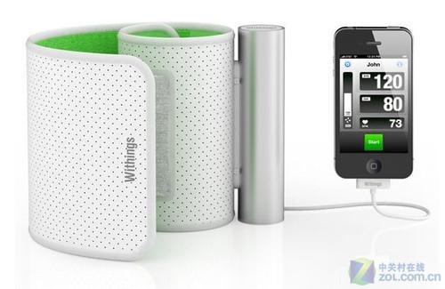 【回顾往年CES】Withings推出首款便携式血压计,支持与手机连接