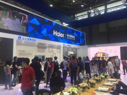 【2018 CES Asia】海尔携智慧家庭成套方案参展