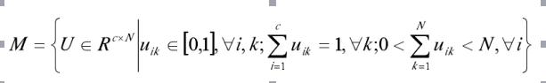模糊聚类的原理和划分算法,流程图以及Matlab程序的资料免费下载