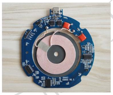 无线充电7.5W全兼容PCBA的产品详细中文资料概述