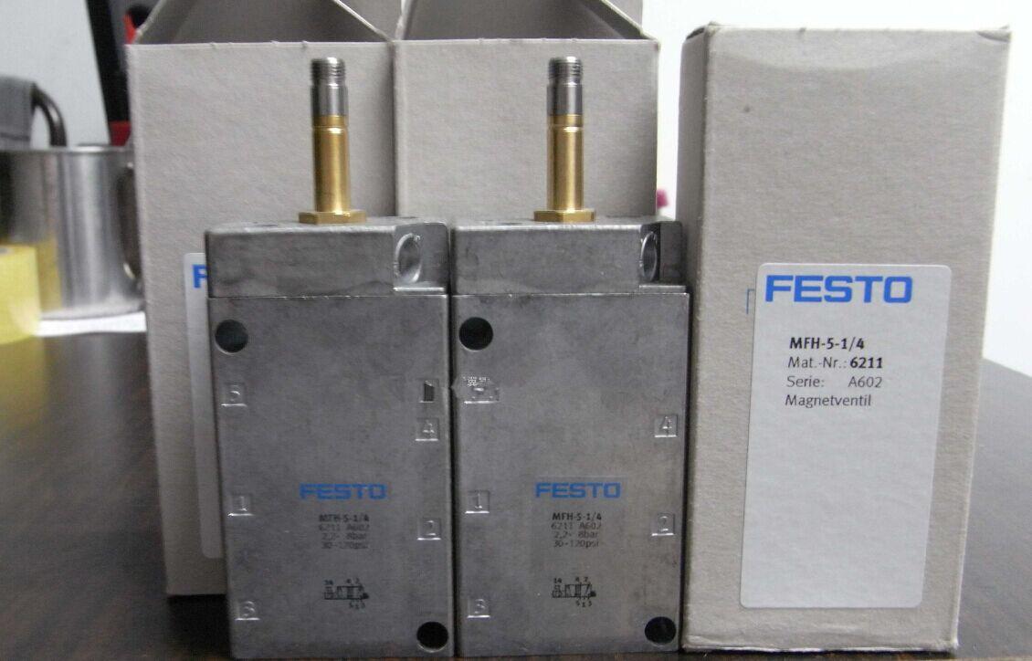 工业控制中,FESTO电磁阀起到的作用