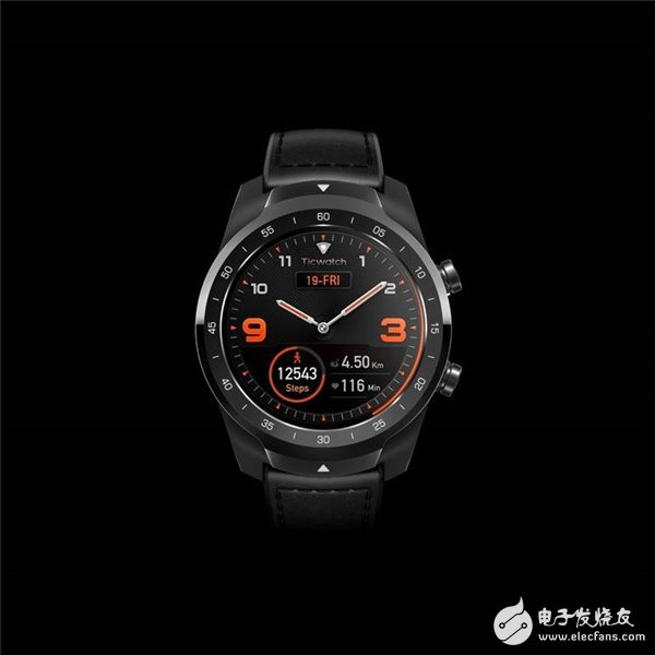 出门问问最新推出的智能手表旗舰系列TicWatch Pro正式现货发售