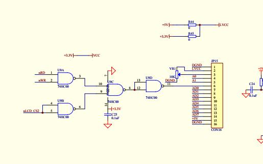 C8051F020DK单片机开发板的使用手册,软件例程和硬件原理图的概述