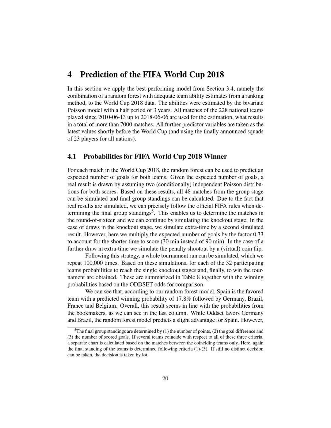 听说机器学习可以预测出2018世界杯走势