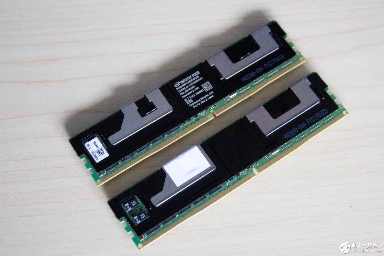 傲腾DDR4内存条:3D Xpoint技术,单条容量高达512GB