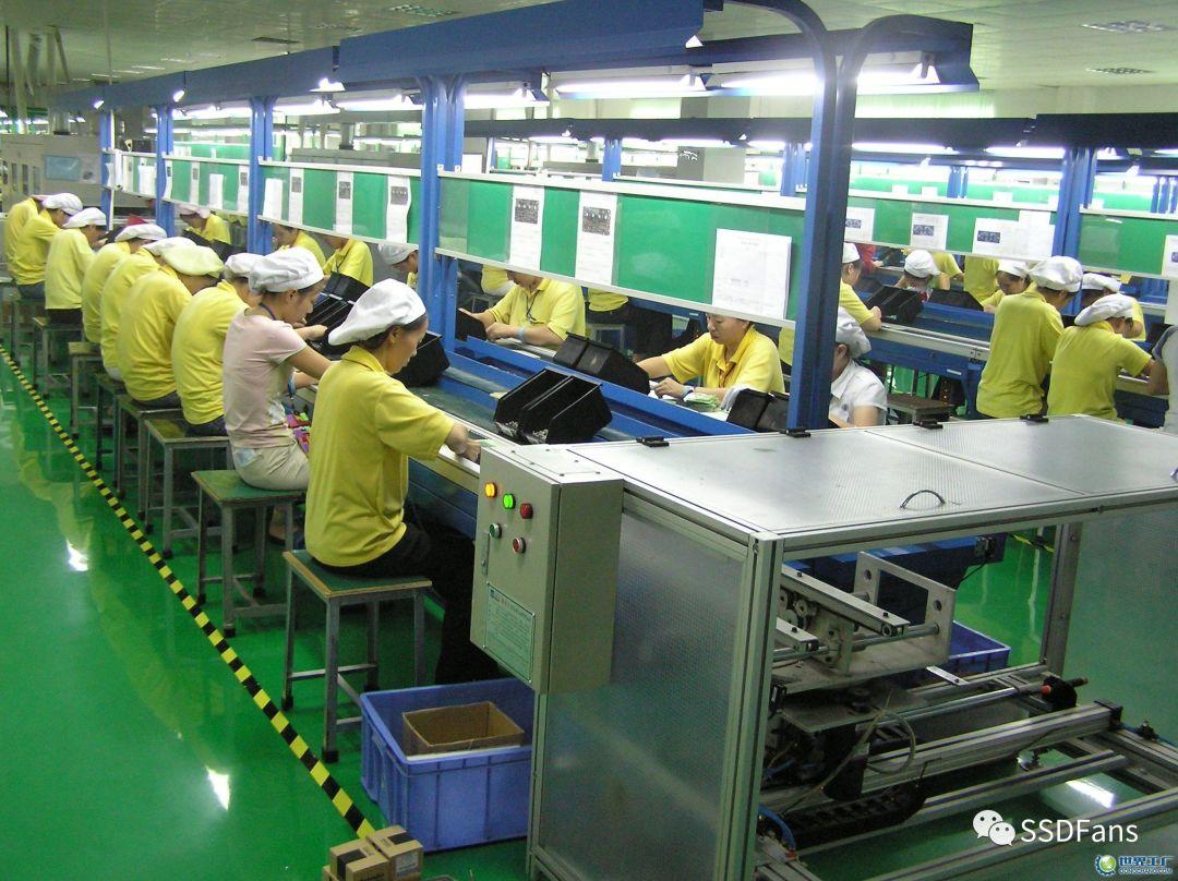 包装工厂流水线图片