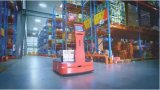 AICRobo仓储拣运机器人助力智慧仓储普及化发展
