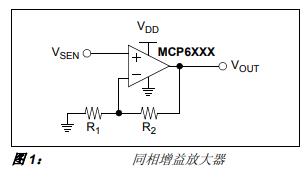 常用模拟传感器的调理电路的详细中文资料概述