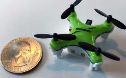 麻省理工设计微型芯片,让无人机像指甲盖一样小