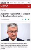 """""""尾气门""""造假事件:奥迪CEO被捕,大众开出10亿欧元罚单"""