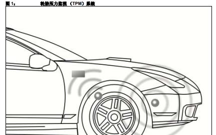 汽车领域的轮胎压力监视系统的详细中文资料概述