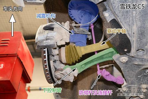 【底盘大PK】雪铁龙C5/君威/雅阁/蒙迪欧致胜