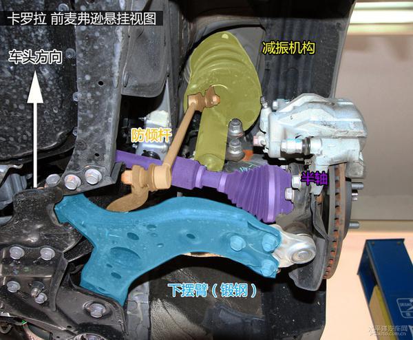 一文看懂一汽丰田全新卡罗拉底盘