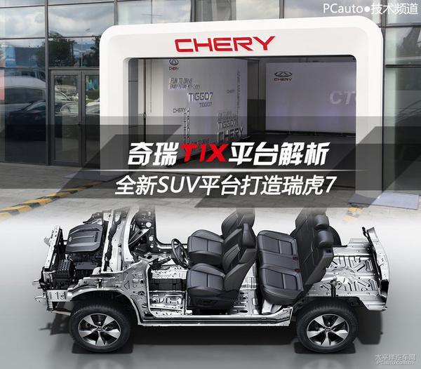五分钟了解奇瑞全新SUV平台——T1X平台概念