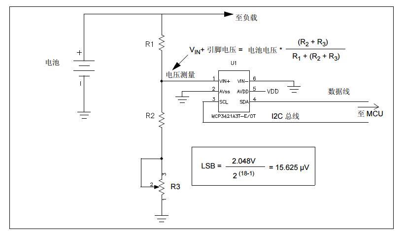 AN1156中文手册之使用∆-ΣADC器件测量电池电量