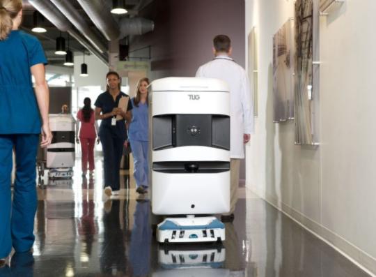 自动机器人在物流业逐渐取代AGV