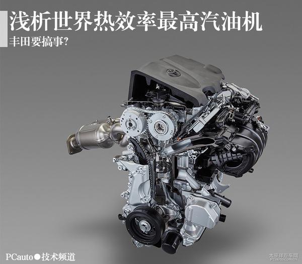 揭秘丰田最高热效率的汽油机
