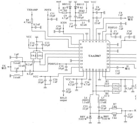UAA2067G的应用电路设计