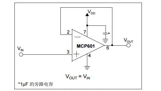 AN682中文手册之嵌入式系统中使用单电源运算放大器