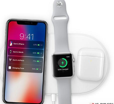 苹果将于今年9月正式开售AirPower无线充电座