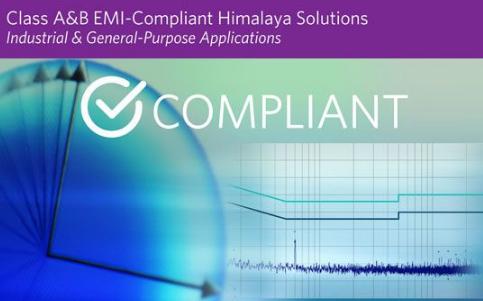 Maxim宣布推出低EMI喜马拉雅降压转换器和电源模块