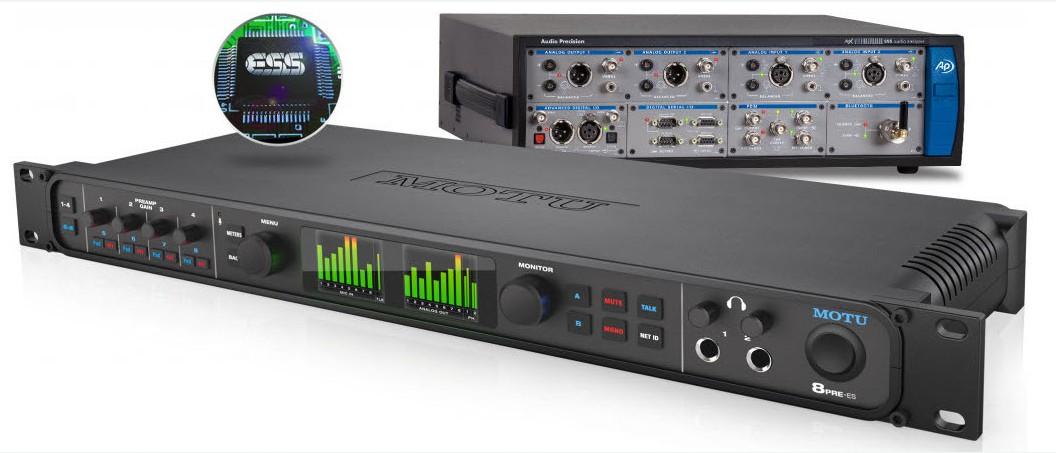 8pre-es,52通道雷电/USB音频接口,可用于Mac、Windows和iOS系统