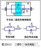 二极管的电容效应和等效电路与开关特性