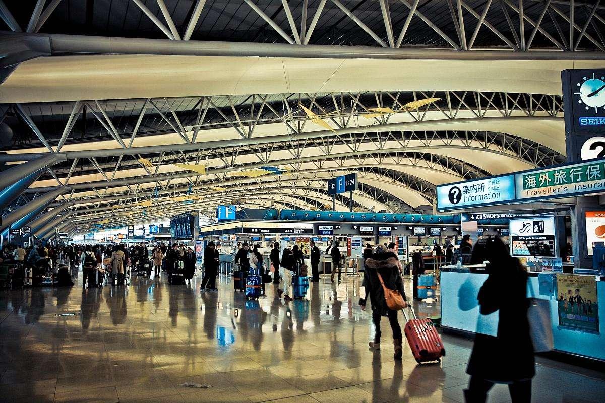 关西机场人流监控系统超过250个传感器,可实现人...